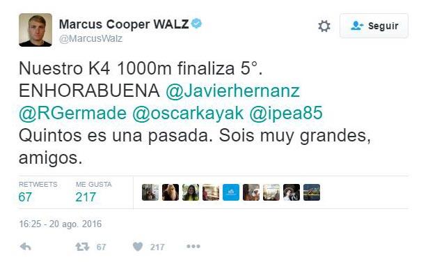 Marcus Cooper tuit