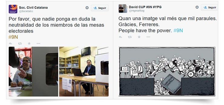 Tuit politica catalana