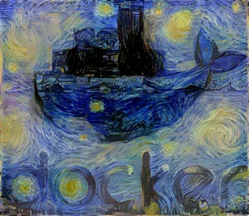 Docker Van Gogh