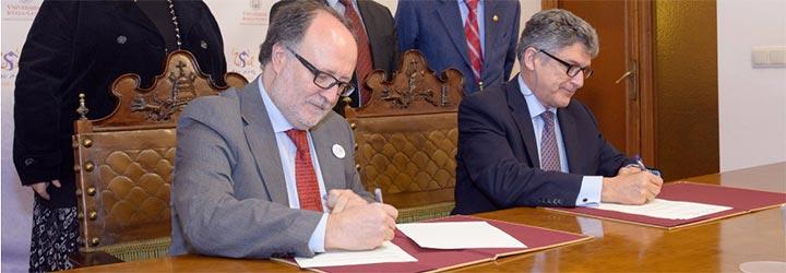Firma del acuerdo IIC USAL