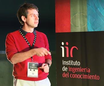 Álvaro Barbero en Big Data Spain