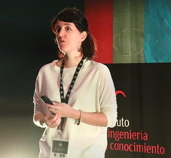 Marta Guerrero en Big Data Spain